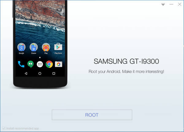 Root Samsung galaxy s3 gt-i9300 with KingoRoot, the best one-click Android root tool.