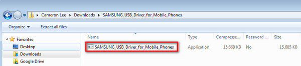 Click to install USB driver for Samsung devices for Windows | KingoRoot