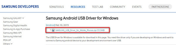 Download USB driver for Samsung devices for Windows | KingoRoot