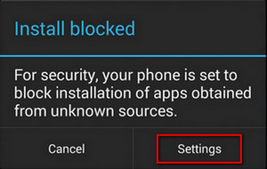 Install Blocked when installing KingoRoot.apk