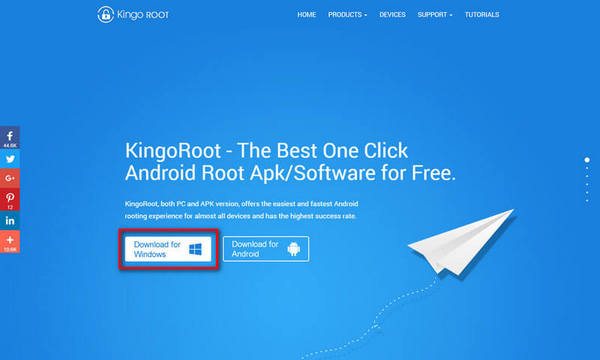 Root Samsung Galaxy with KingoRoot Android