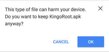 Root Sony Xperia XZ with KingoRoot APK