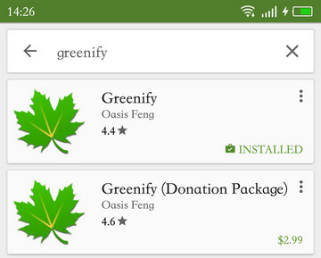 Greenify on Google Play