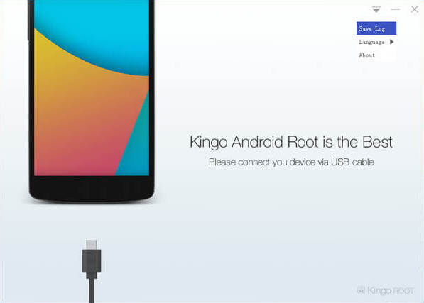 Save log of KingoRoot Android (PC Version)
