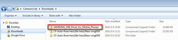 USB driver for Samsung devices for Windows | KingoRoot