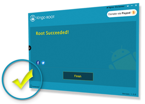 Kingo Android Root succeeded
